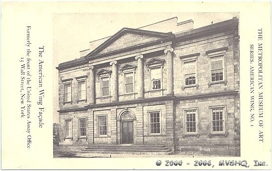 After its 1915 demolition