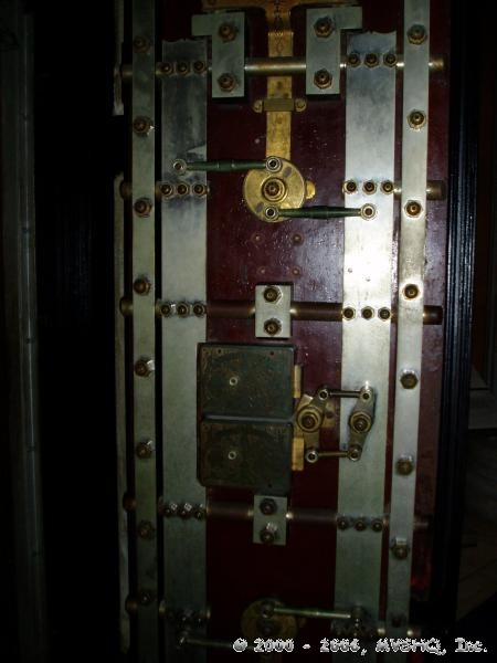 Coin Vault Door Mechanism
