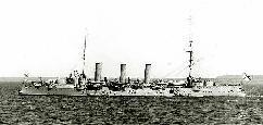 Russian Cruiser Oleg