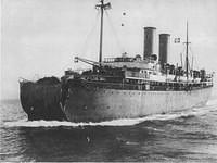 S.S. Florida steams to New York